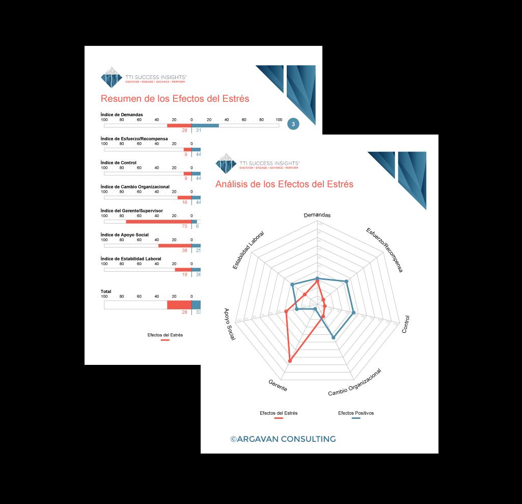 Ejemplo Informe Coeficiente de Estrés ©ARGAVAN CONSULTING